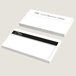 Buste da lettera personalizzate.