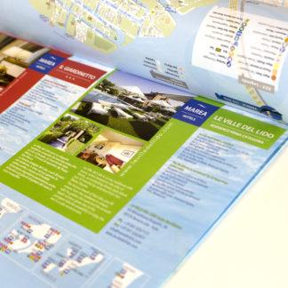 Mappa formato liscio a blocco personalizzata