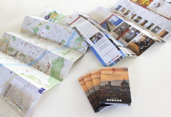 Mappa formato tascabile personalizzata