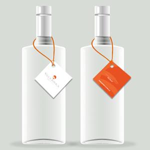Collarini e cartellini per bottiglie personalizzati | Cartellini per bottiglie personalizzabili | Stampa online cartellini bottiglie | Stampa i tuoi cartellini bottiglie