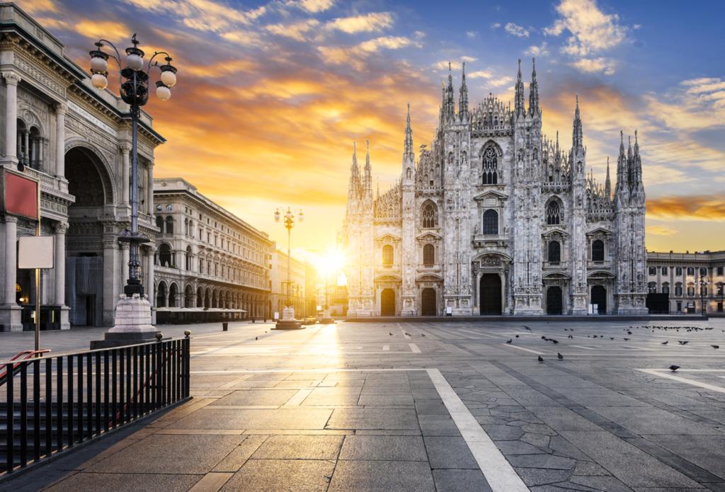 Mappa generica di Milano