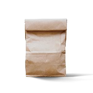 Sacchetti in carta per alimenti | Sacchetti di carta avana per alimenti | Brusy